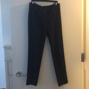 T Tahari Navy Suit Pants